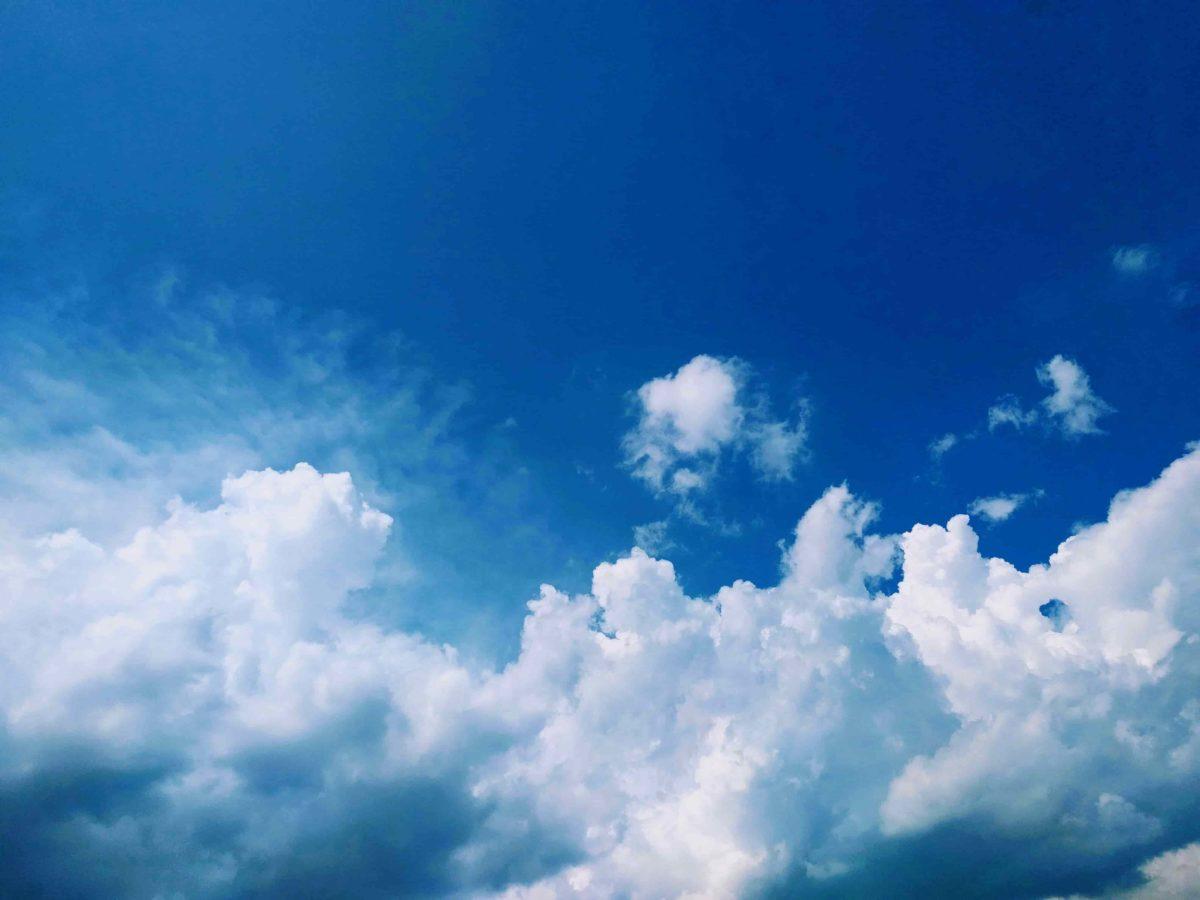 夏っぽい空の写真