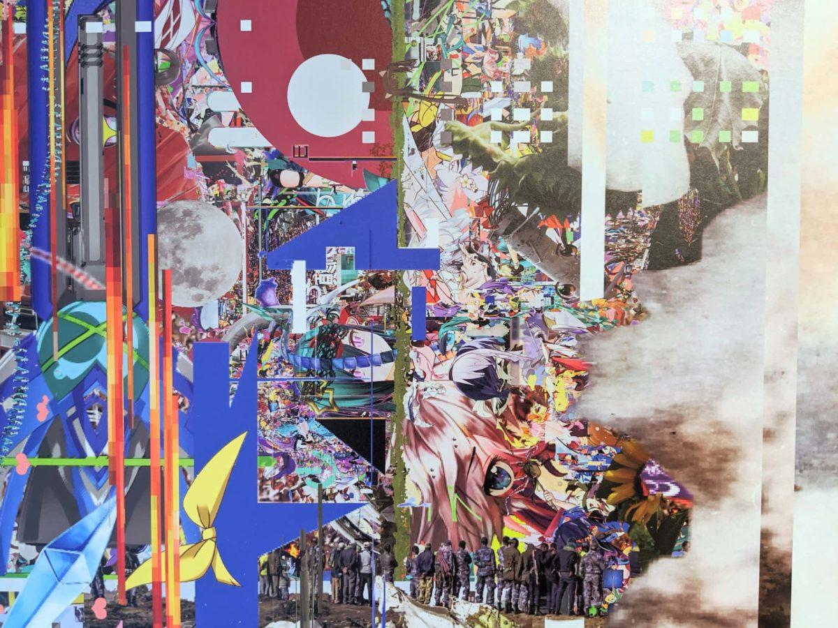 TOKYO2021美術展「un/real engine 慰霊のエンジニアリング」写真