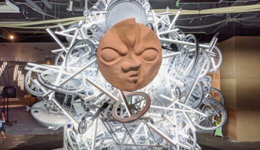 美術展「TOKYO 2021─慰霊のエンジニアリング」【祝祭の国】:日出る国の栄光と刷新の瓦礫の山が示す光と影