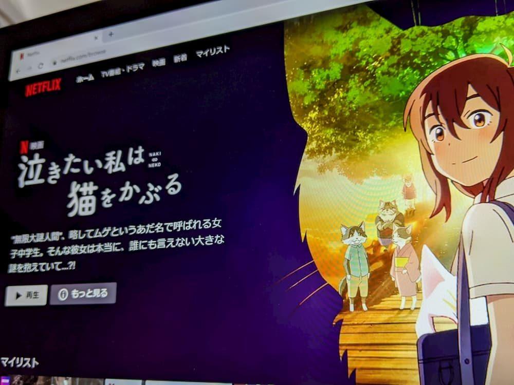 アニメ映画『泣きたい私は猫をかぶる』