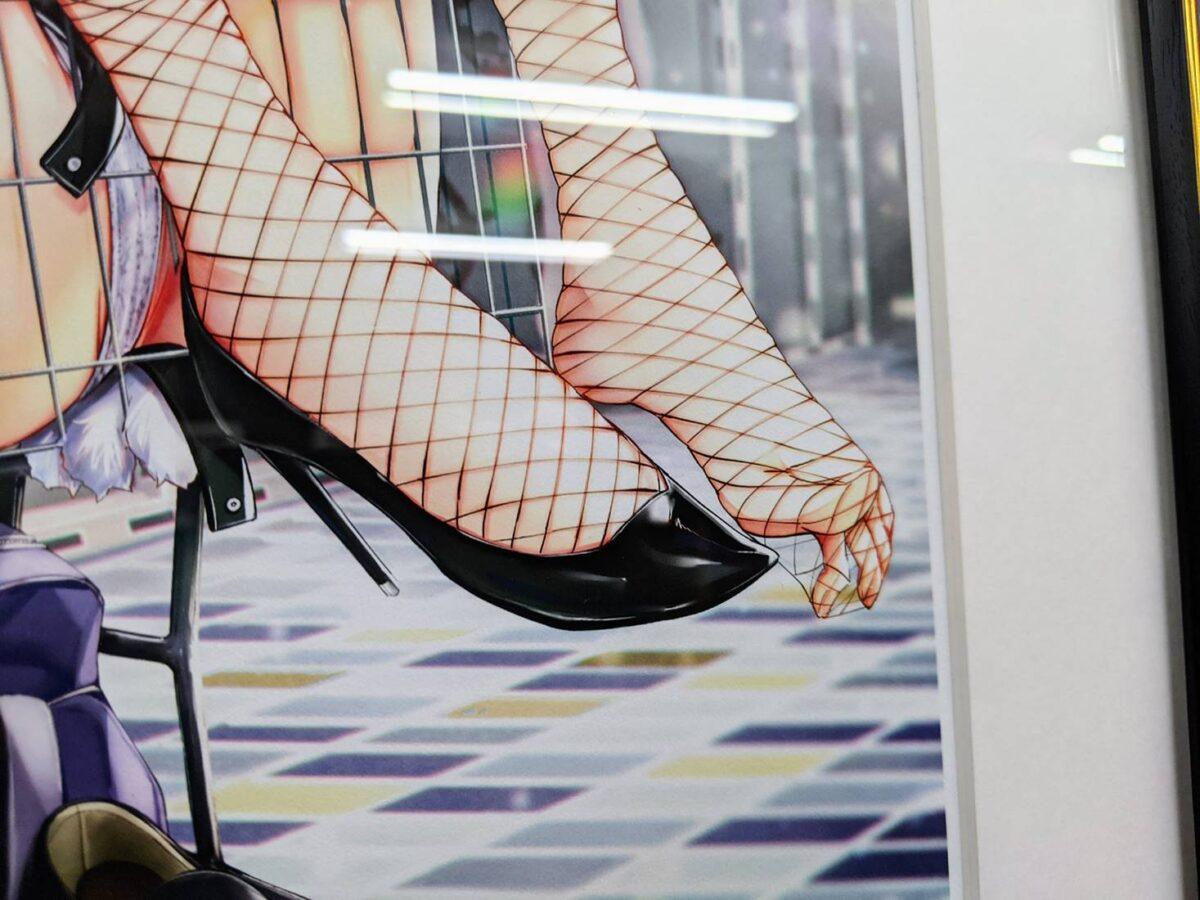 『くろバニー』展イラスト画像