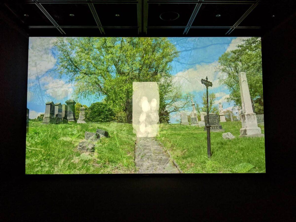 エキソニモ個展「UN-DEAD-LINK」写真画像